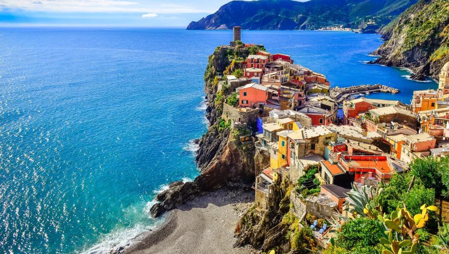 Чинкуе тере Италия