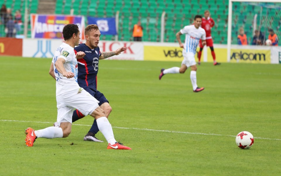 Шампионът на бившия СССР Динамо Минск претърпя втора поредна загуба