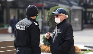 """Полиция не позволява разходките по бул. """"Витоша"""" (снимки)"""