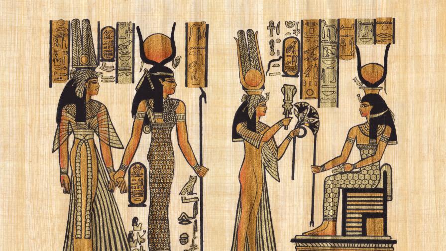 Илюстрации на древни египетски папируси