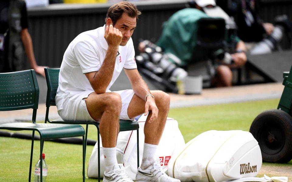 Федерер: Съкрушен съм