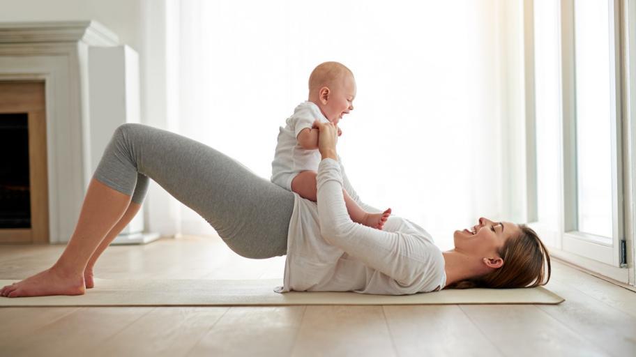 Кога е добре да започнем с упражненията след раждането