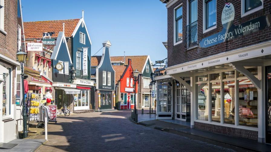 Празните улици на Нидерландия