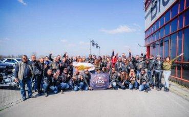 Клубът на притежателите на Harley-Davidson – H.O.G. направи дарение за медиците от Пирогов