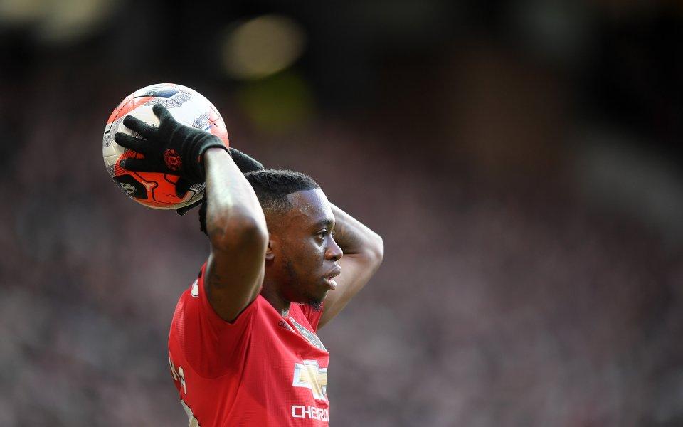 Защитникът на Манчестър Юнайтед Аарън Уан-Бисака определи Рахийм Стърлинг като