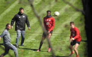 ЦСКА нарушава забраната за извънредно положение и тренира (видео)