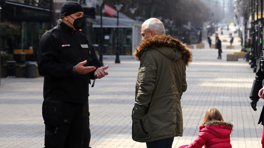 <p>Трогателно послание от полицаите</p>