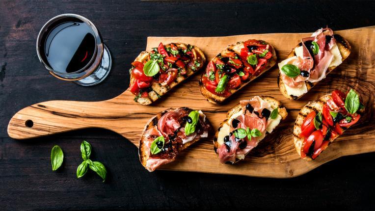 вкусно храна вино предястие апетайзер