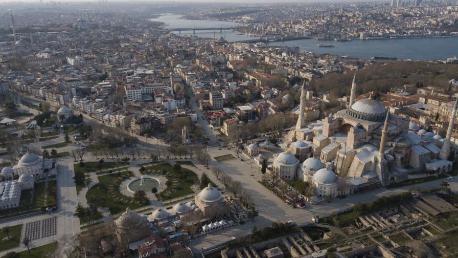 Пустите улици на Истанбул