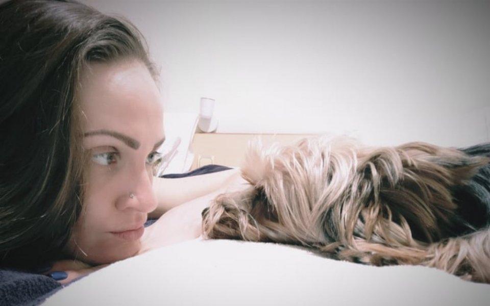 Макс - кучето на Виктория Григорова
