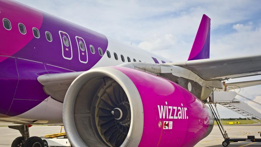 Спират полетите на Wizz Air от Варна до Лондон