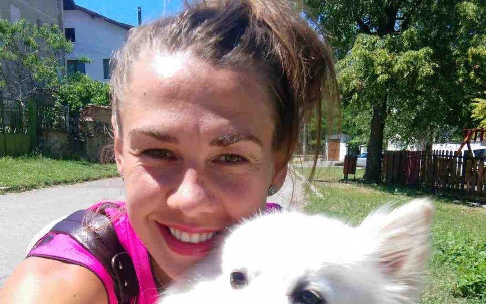 Бекси - снежното куче на Кремена Каменова от Марица