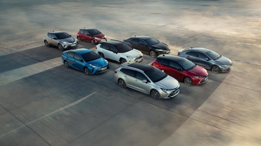 <p>Toyota е продала 15 млн. хибрида</p>