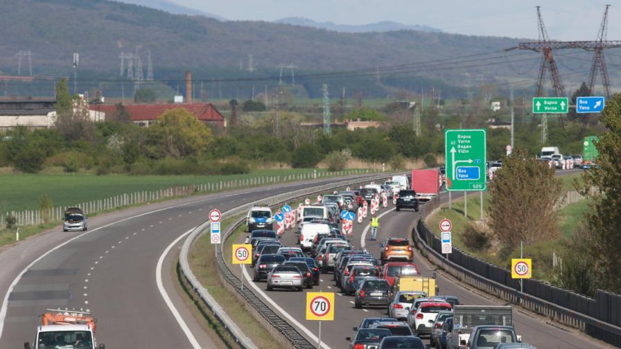 Ремонти по магистралите, къде ограничават движението