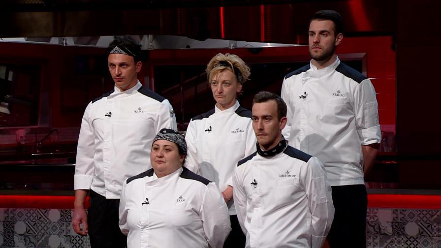 Петима топ готвачи продължават състезанието за голямата награда в Hell's Kitchen България