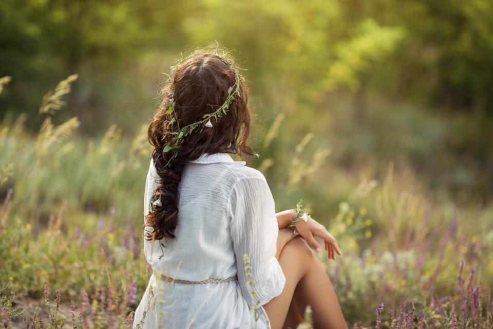 жена природа