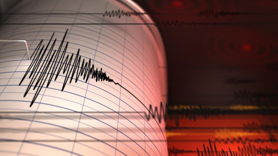 Земетресение от 4,1 по Рихтер край Вранча