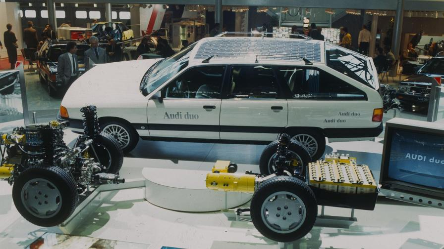 <p>Студени досиета: първият хибрид на Audi</p>