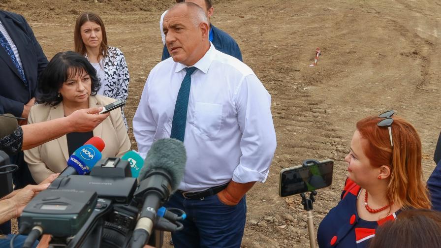 Пускат движението по обходния път на Габрово, Борисов на инспекция