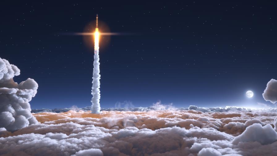 Изстреляха ракета на биогориво, ще бъде космически Uber