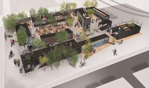 Ето как ще изглежда Food Park в София