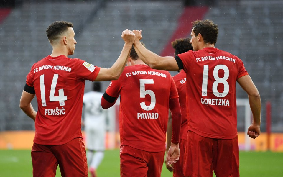 Байерн Мюнхен води с 1:0 срещу Айнтрахт Франкфурт в среща