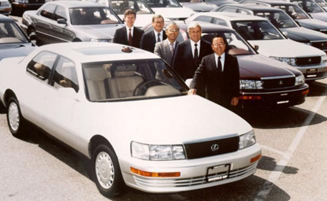 Преди 33 години се появява първият Lexus