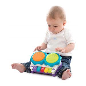 Музикална играчка 2в1 Пиано и Барабани