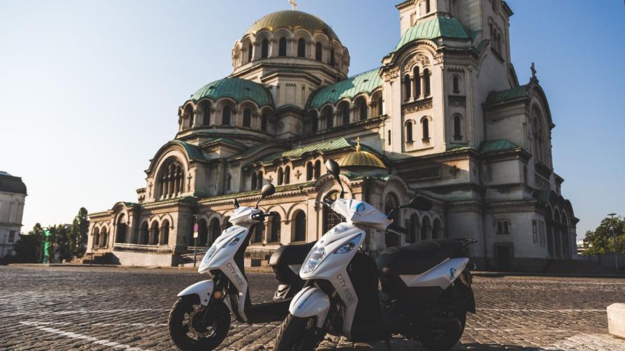 SHAREASCOOT предоставя своите скутери на бизнеси в столицата