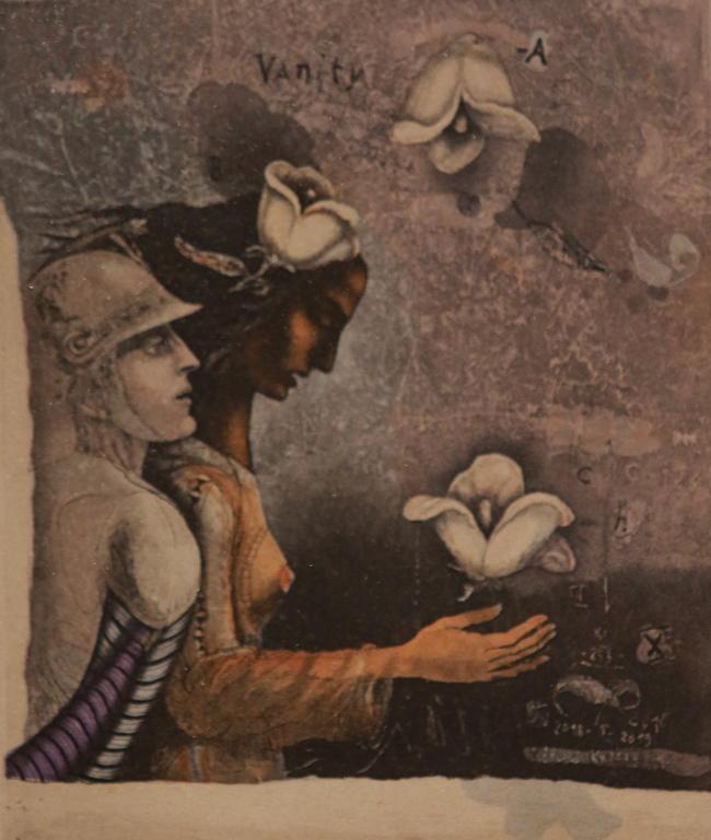<p>Антични герои, есенни листа, стълби за никъде, хартиено корабче, жита, пъстри пера, крила на птици... и ангели, сезоните на природата и човека, детско конче, завеси, сакрални символи и знаци, девици, цветя и хвърчила... се преплитат в изящна иносказателна зримост.</p>