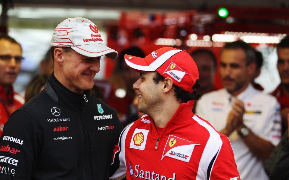 Бившият пилот на Ферари Фелипе Маса заяви, че не спира