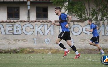 Левски тренира усилено и в пълен състав за контролата с Витоша