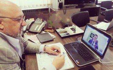Красен Кралев проведе онлайн среща с боса на WADA