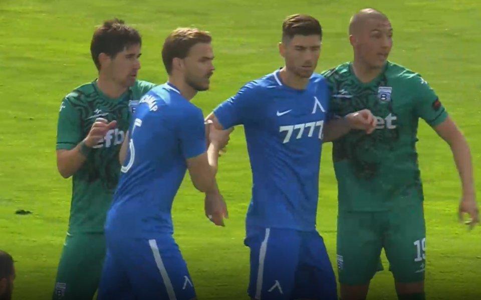 Отборите на Левски и Витоша Бистрица играят при резултат 1:0