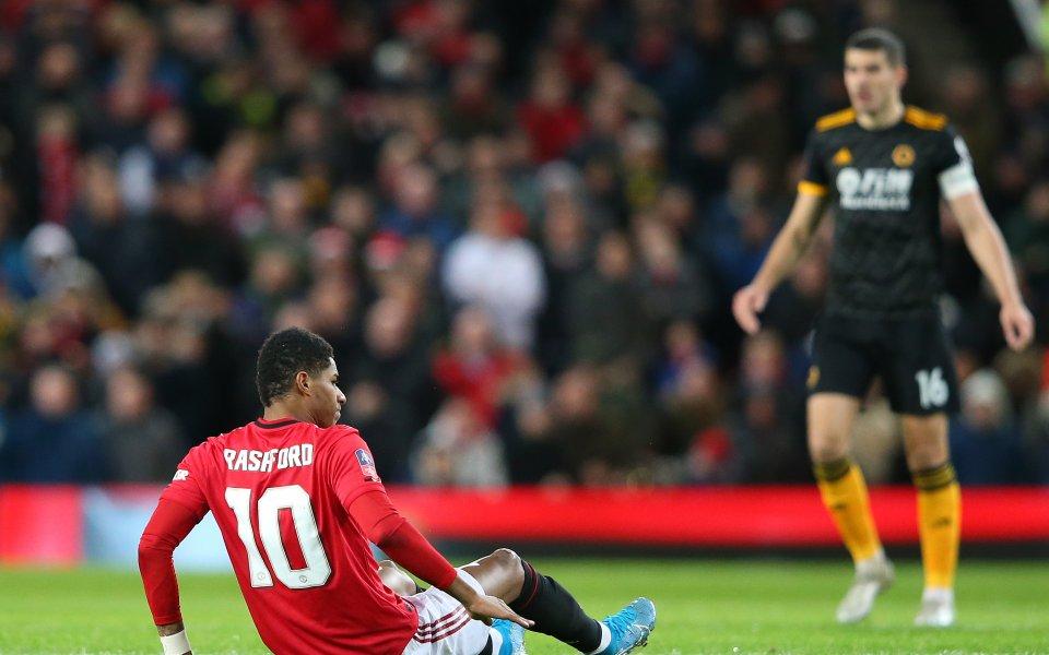 Звездата на Манчестър Юнайтед Маркъс Рашфорд е бил съвсем близо