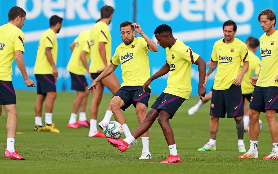 """Испанските грандове Барселона и Реал Мадрид пристъпиха към етап """"4"""""""