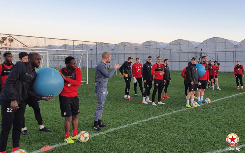 Спортно-техническото ръководство на ЦСКА вече работи по подготовката за новия