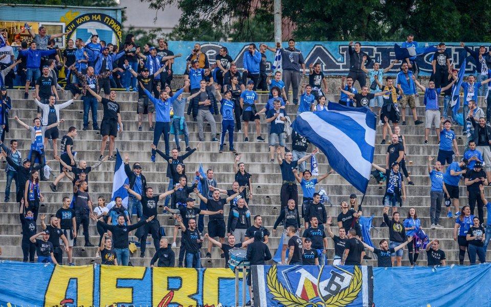 Вчера българското първенство бе подновено след пандемията от коронавирус. Локомотив