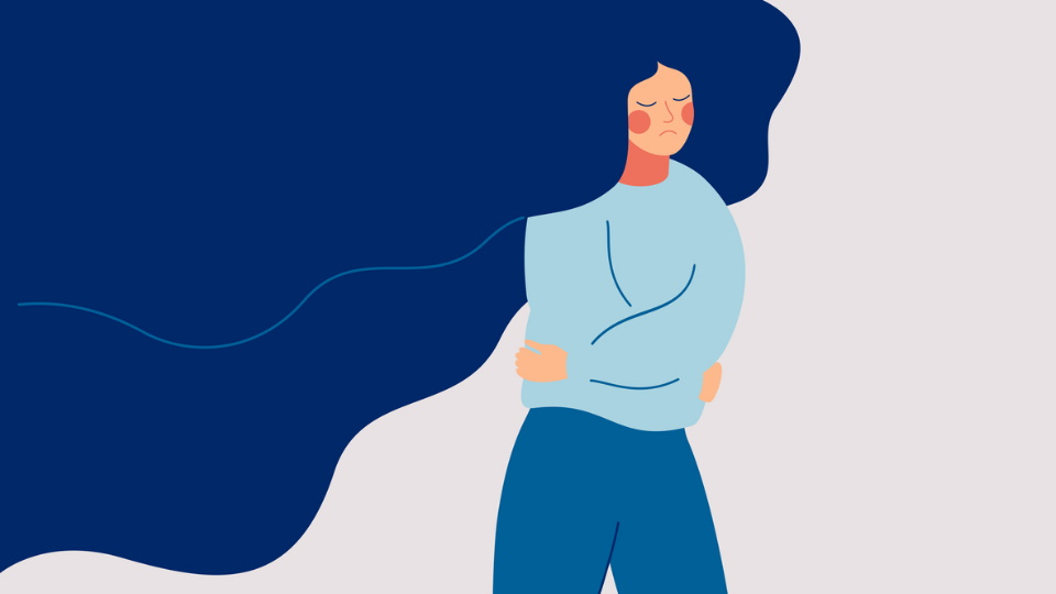 тревожност паник атаки жена тъга