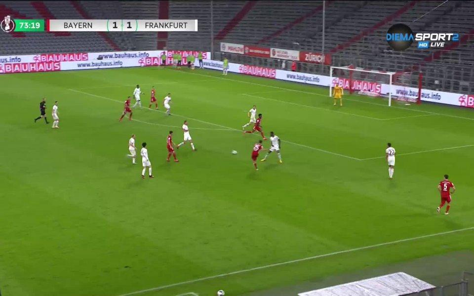 Байерн Мюнхен се класира за финала на Купата на Германия