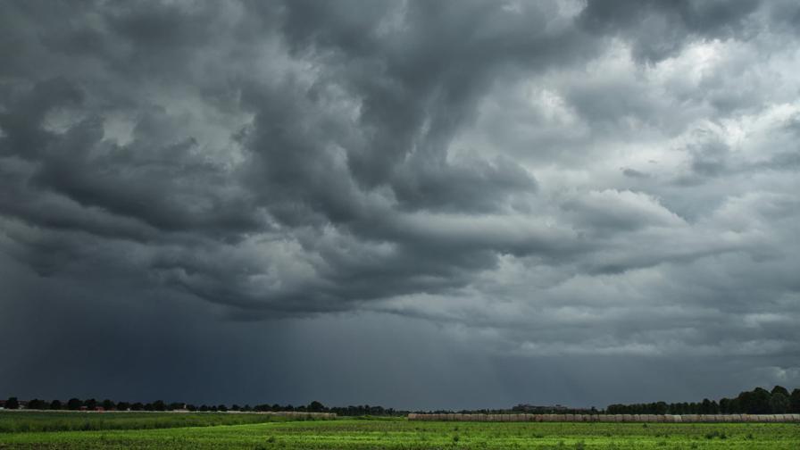 Жълт код за гръмотевични бури в цялата страна