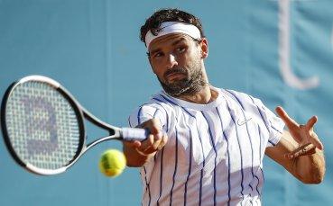 Григор Димитров отказа участие на турнира в Австрия