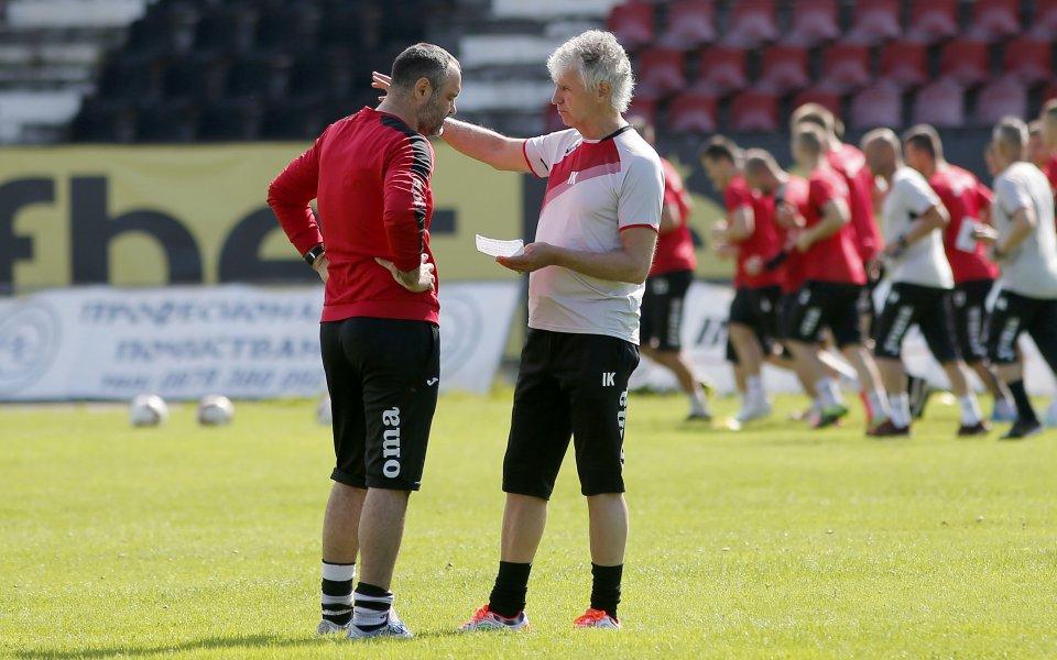 Отборът на Локомотив София ще изиграе две контролни срещи през