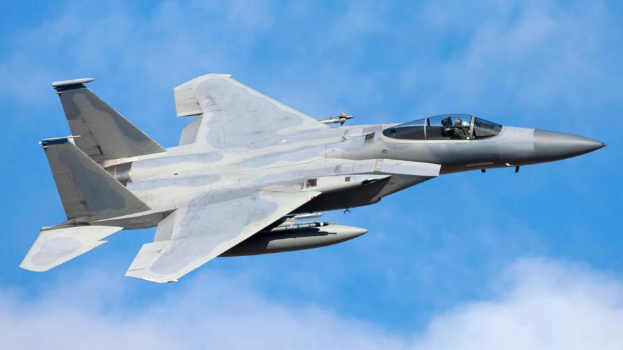 Американски F-15 се разби в Северно море