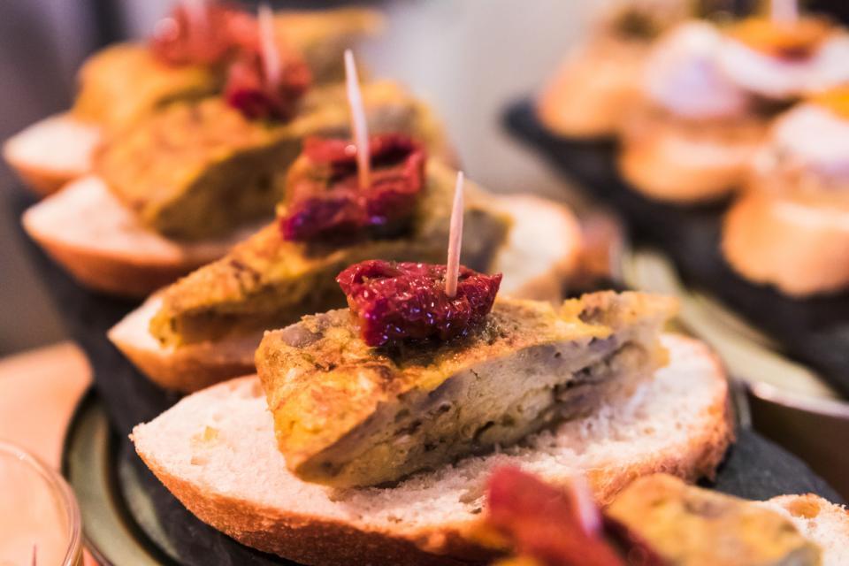 пинчо ди тортиля Испания тапас храна