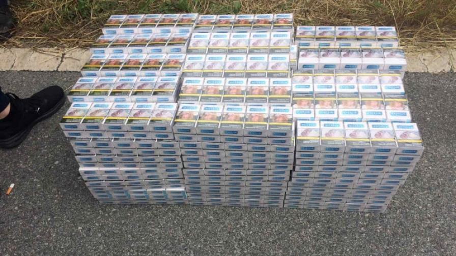 Иззеха 20 хил. къса контрабандни цигари