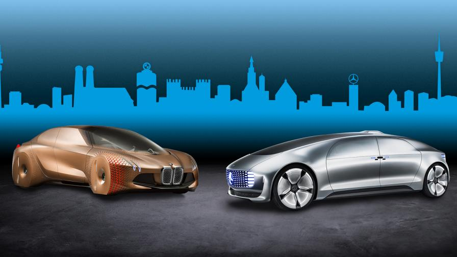 <p>BMW и Mercedes се разлюбиха</p>