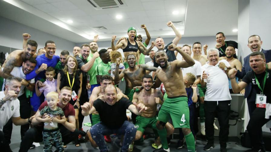 Девета титла: Лудогорец е шампион на България, срази Берое