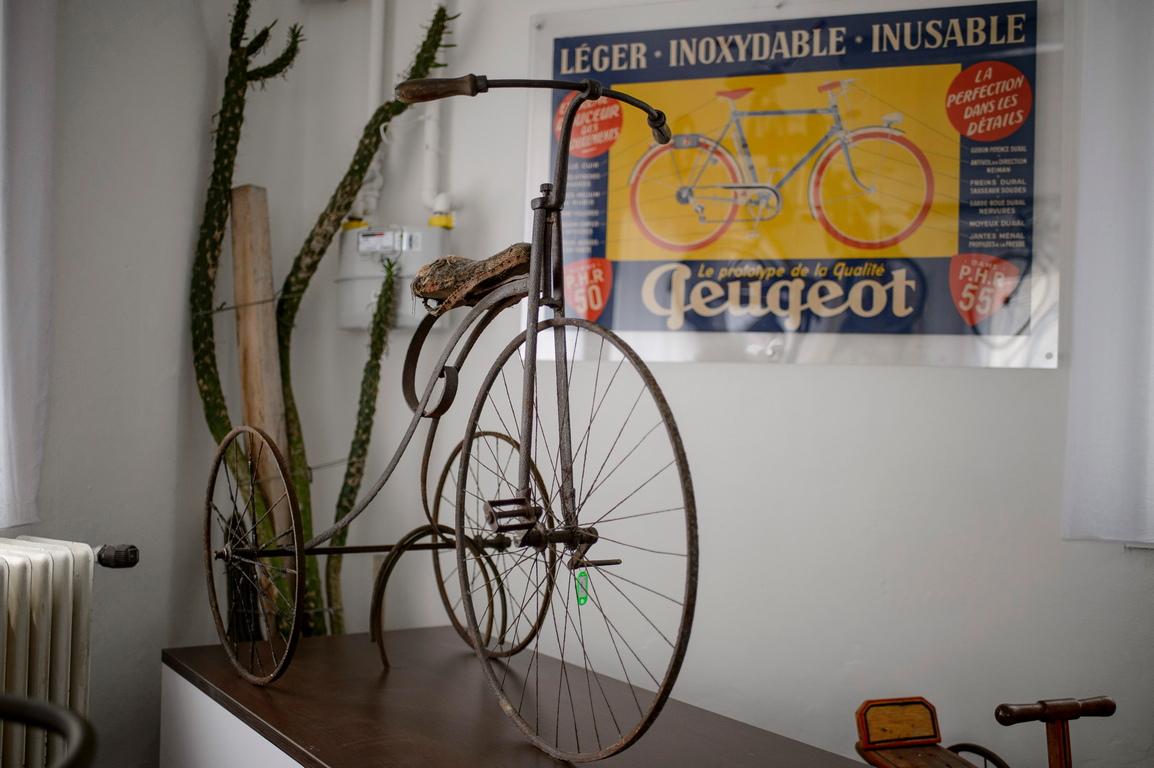 <p>Музеят в Баласагярмат показва велосипеди от цял свят и отвори врати на 20 юни 2020 г.</p>
