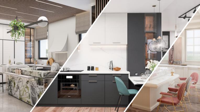 Кухнята разкрива нотки от характера. Кой е твоят стил?